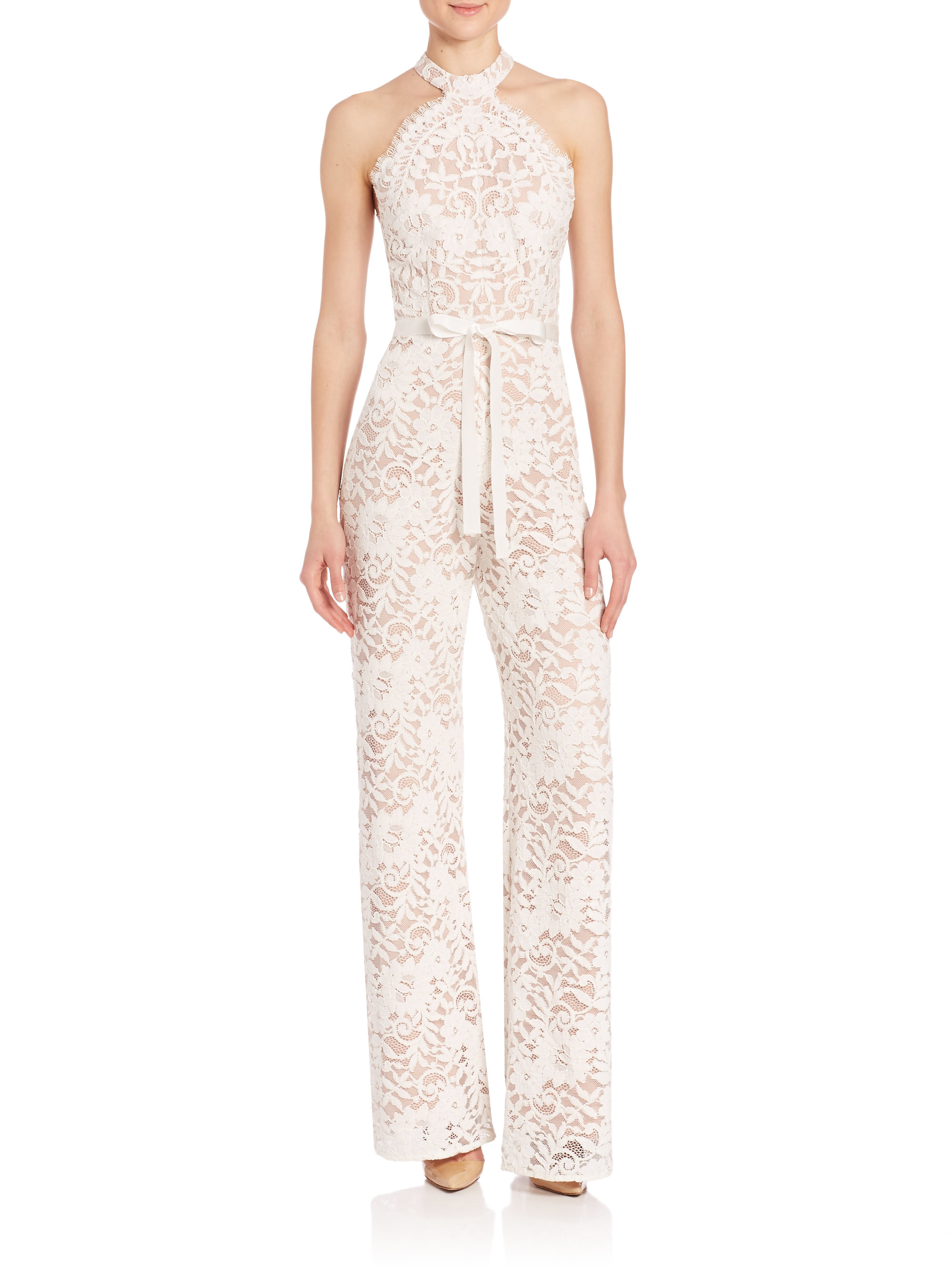 3833fe97688 Lyst alexis rene lace jumpsuit in white jpg 2000x2667 Alexis jumpsuit lace