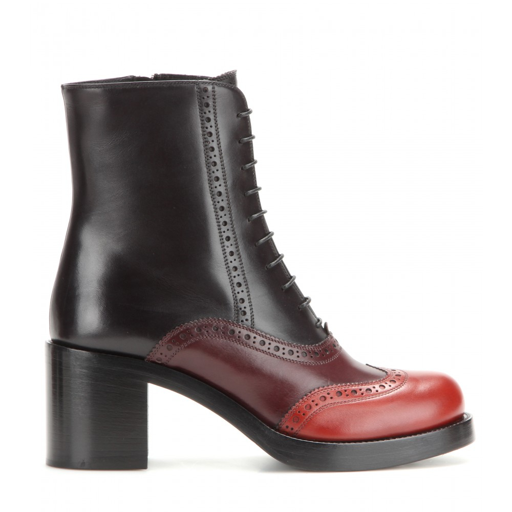 Miu Miu Brogue Ankle Boots clearance view 2014 newest cheap online buy cheap pay with paypal outlet top quality 5PSPRXXCtj