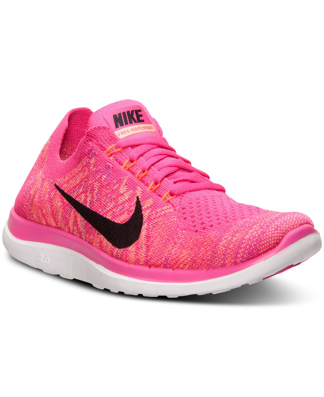 detailed look a1f8e 67115 ... discount code for lyst nike womens free flyknit 4.0 running sneakers  from finish 20581 cb5ba