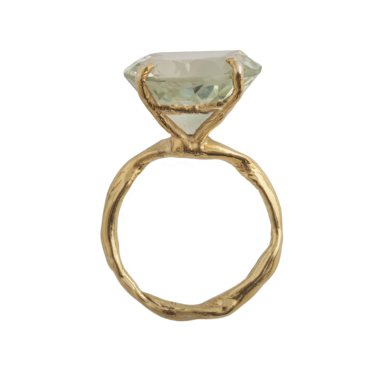 lyst by emily green amethyst ring gold in green. Black Bedroom Furniture Sets. Home Design Ideas