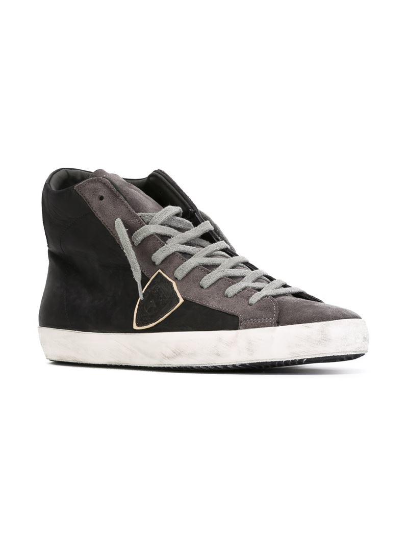 hi-top sneakers - Black Philippe Model QMdK1