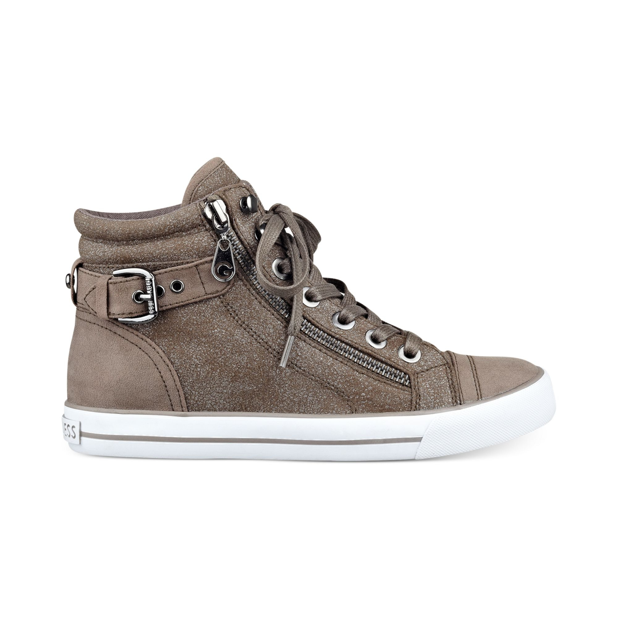 Lyst - G By Guess Womens Olama High Top Sneakers In Gray-2376