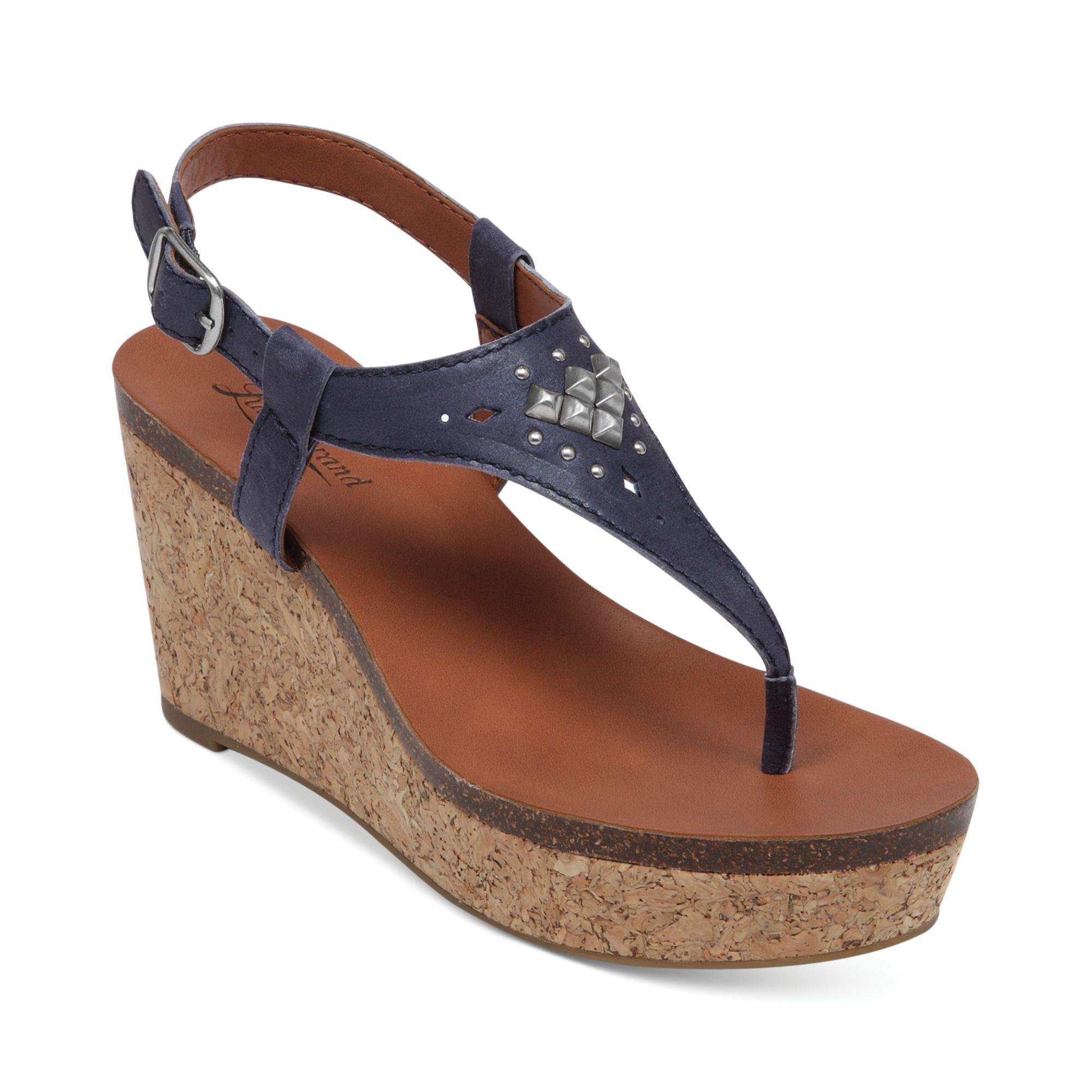 Amazing Prada Womens Patent Leather Cork Platform Sandals  Sionfabb