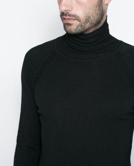 Zara Turtleneck Sweater Mens 56
