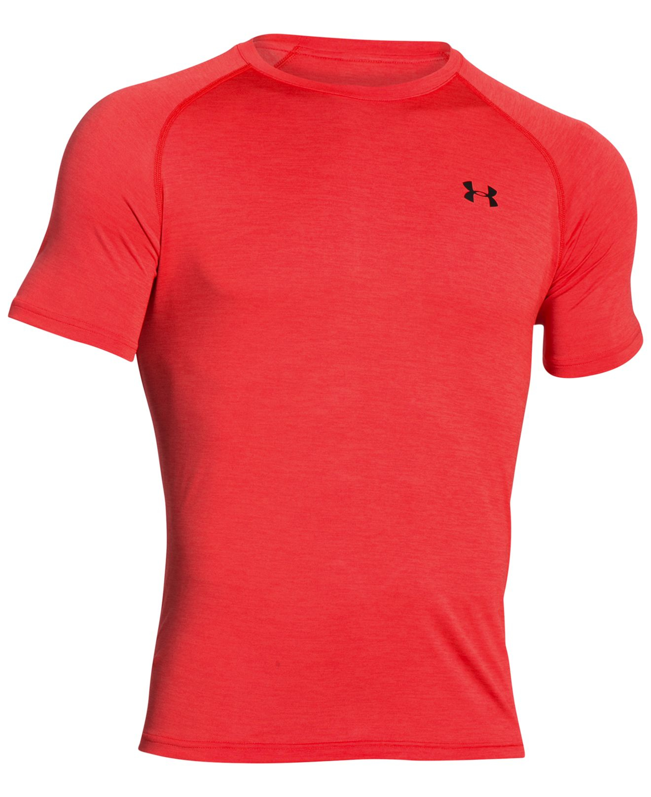 Under Armour Men 39 S Tech T Shirt In Red For Men Red Black