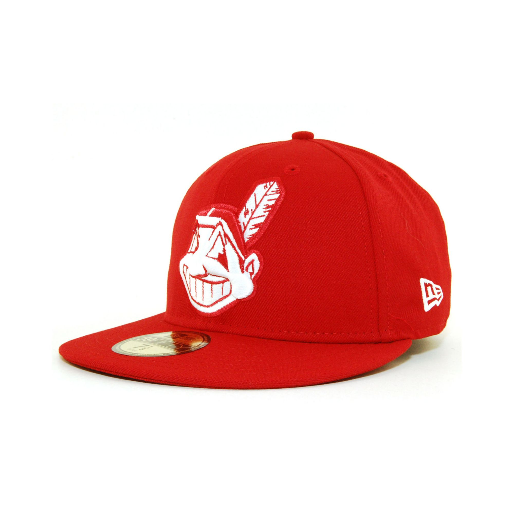 more photos c96b9 428c6 ... usa lyst ktz cleveland indians cdub 59fifty cap in red for men 65052  741da