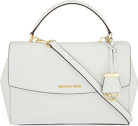 0b21432a5a53 ... low cost michael michael kors ava medium saffiano leather satchel bag  for f702b a1f57