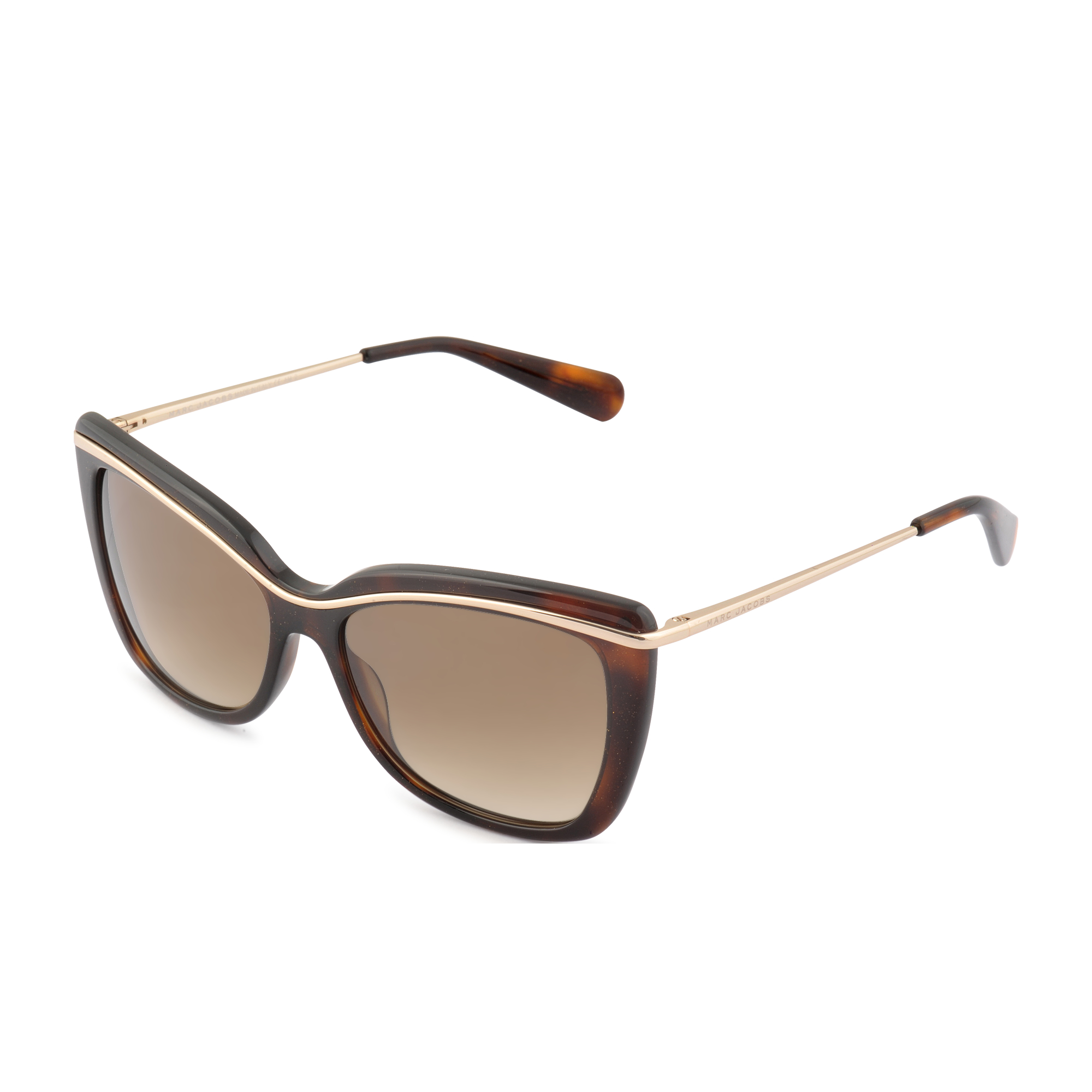 marc mj 534 s sunglasses in brown lyst