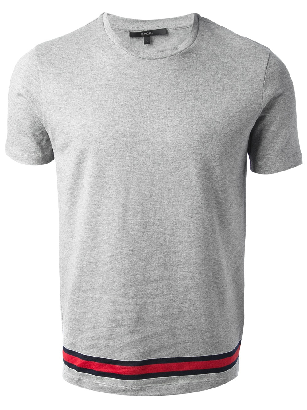 gucci classic tshirt in gray for men lyst. Black Bedroom Furniture Sets. Home Design Ideas