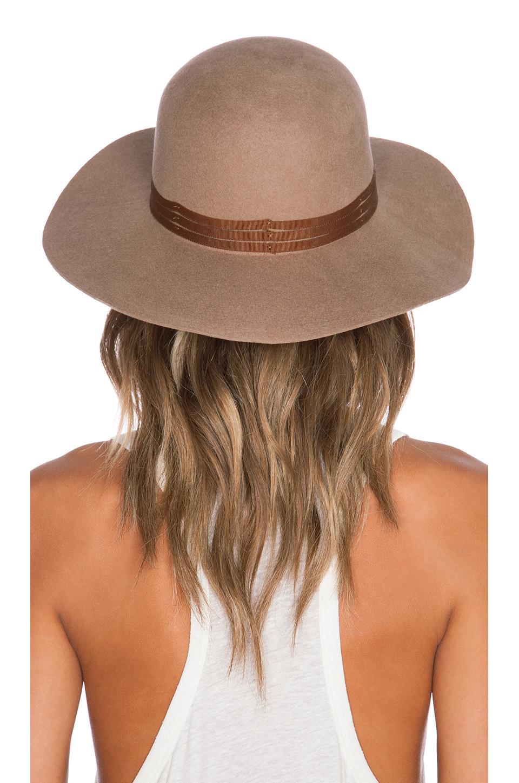 74ec73e18871a italy lyst brixton magdalena hat in natural 364cd 3ba56