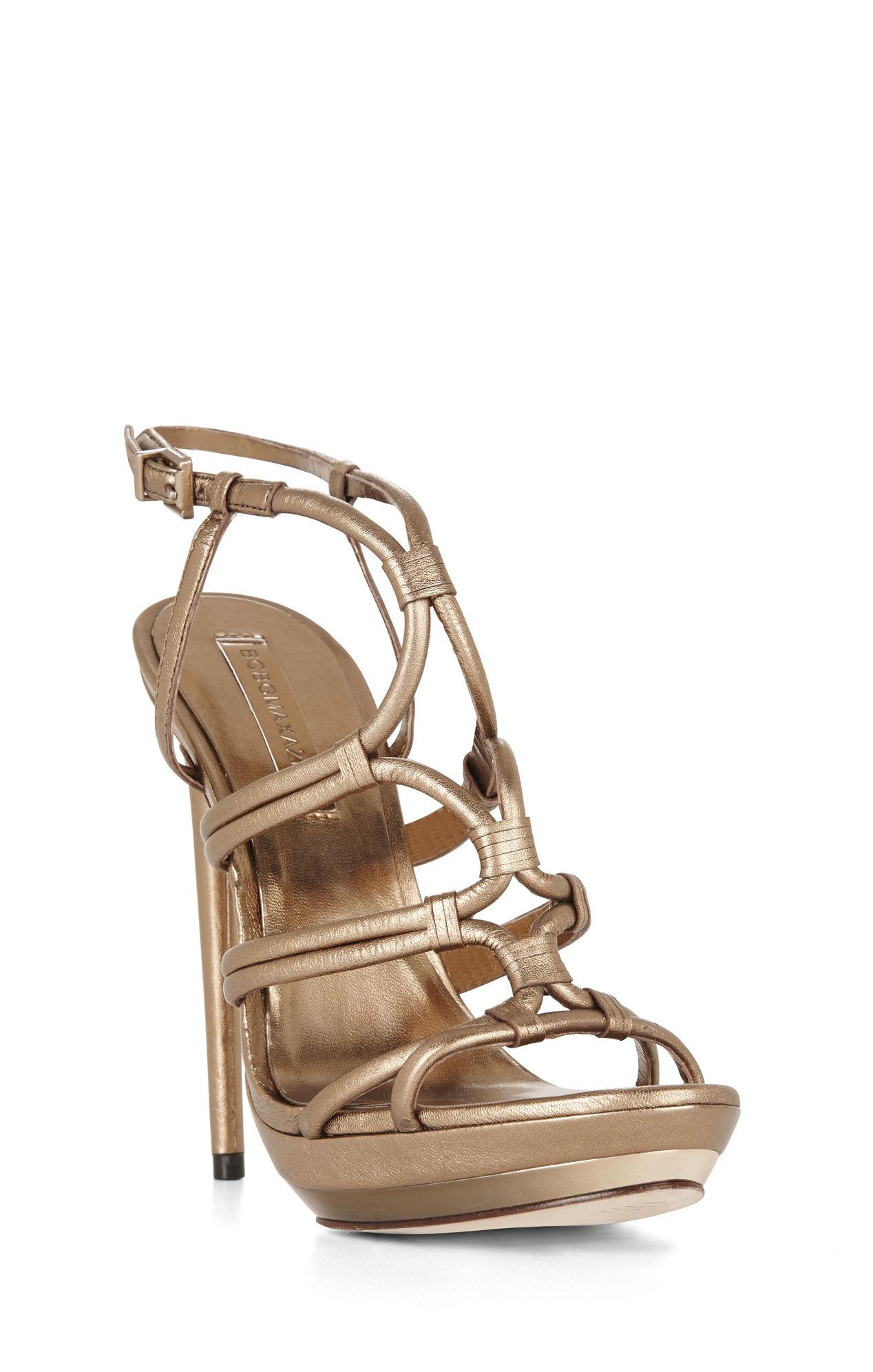 8605189b4 Lyst - BCBGMAXAZRIA Farrow High-heel Strappy Dress Sandal in Brown