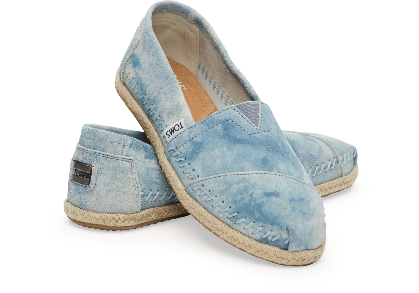 Lyst - Toms Blue Washe...