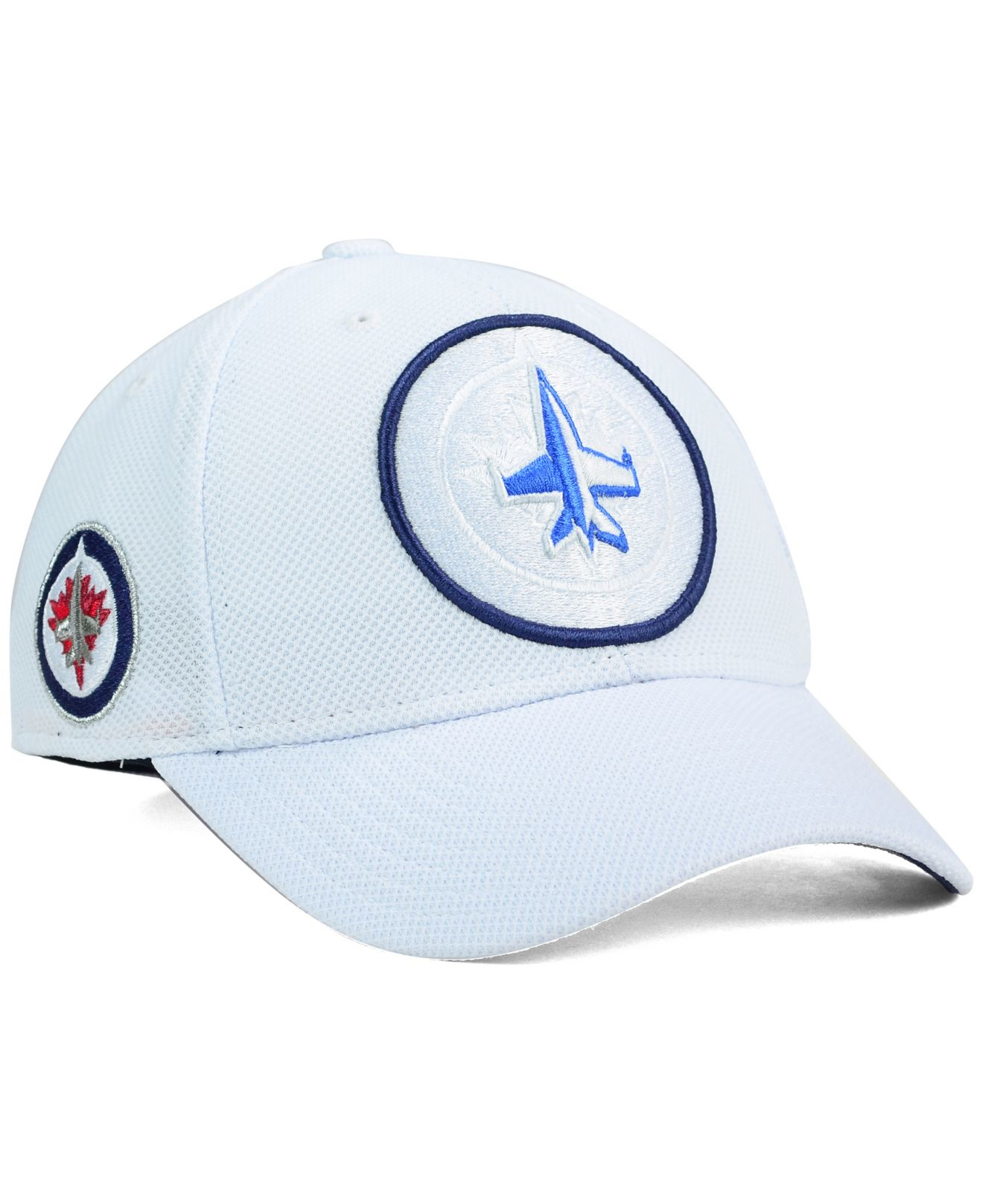 6da7128c37af3 Reebok Winnipeg Jets 2nd Season Flex Cap in White for Men - Lyst