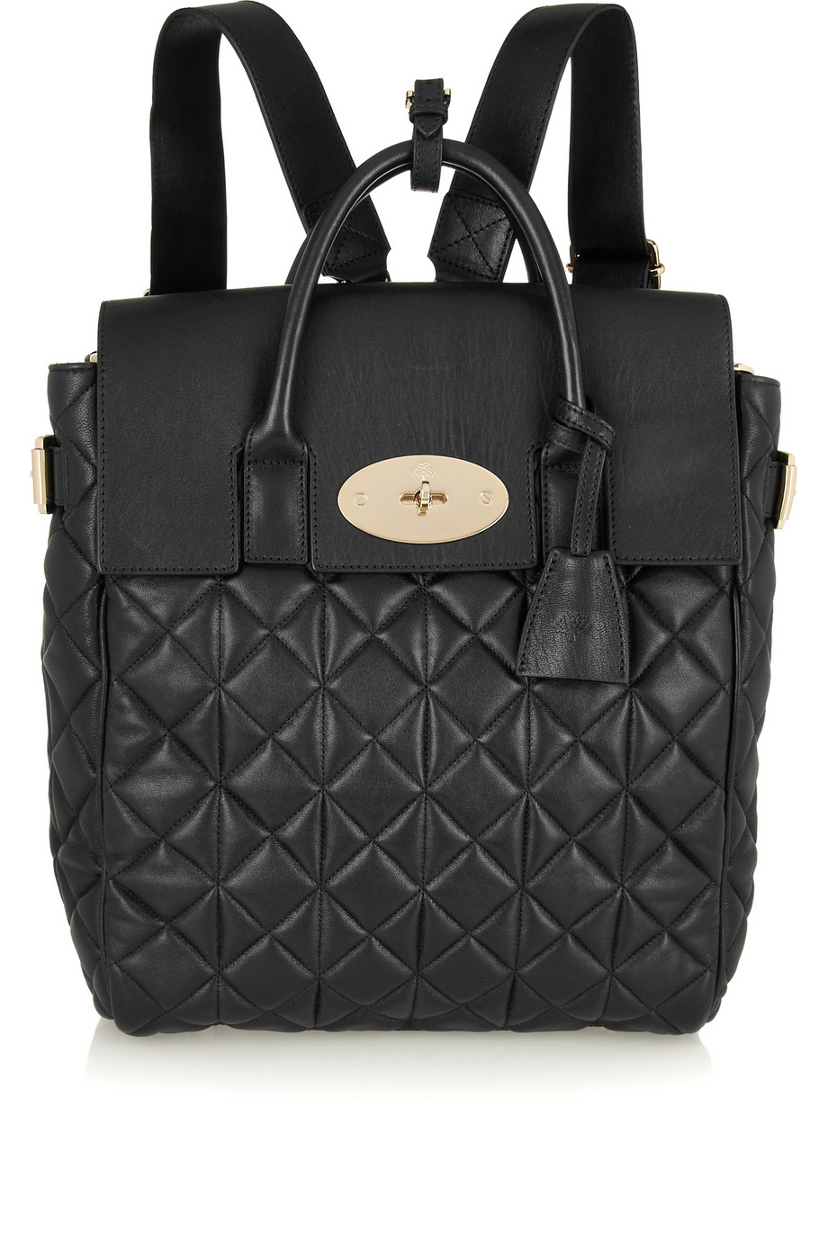 Mulberry Cara Delevingne Large Quilted Leather Backpack in ...