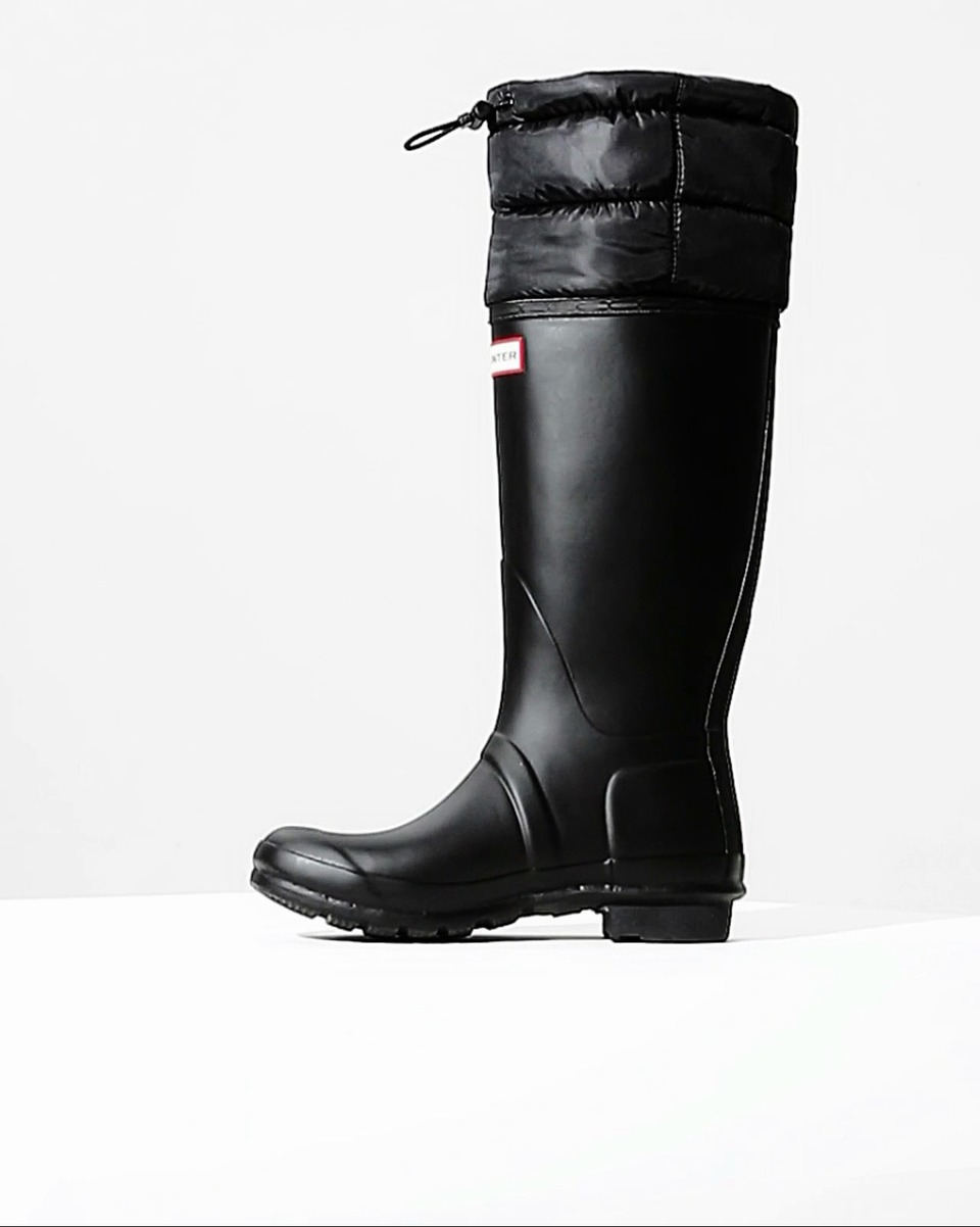 Original Tall Quilted Cuff Womens Wellies