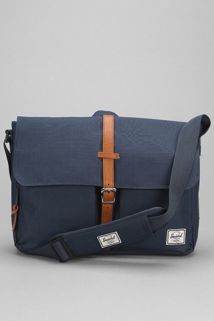 Lyst Herschel Supply Co Columbia Messenger Bag In Blue