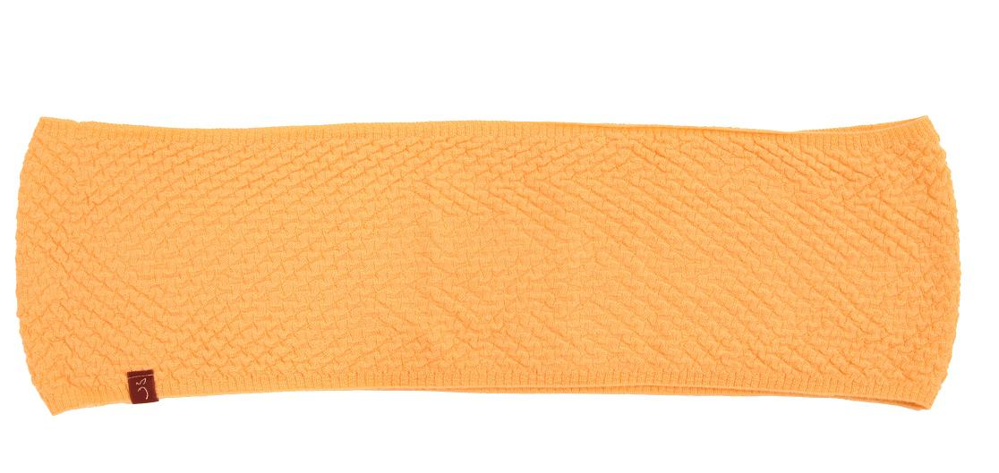 Basket Weaving London : Plum of london alpaca basket weave cowl peach in orange lyst