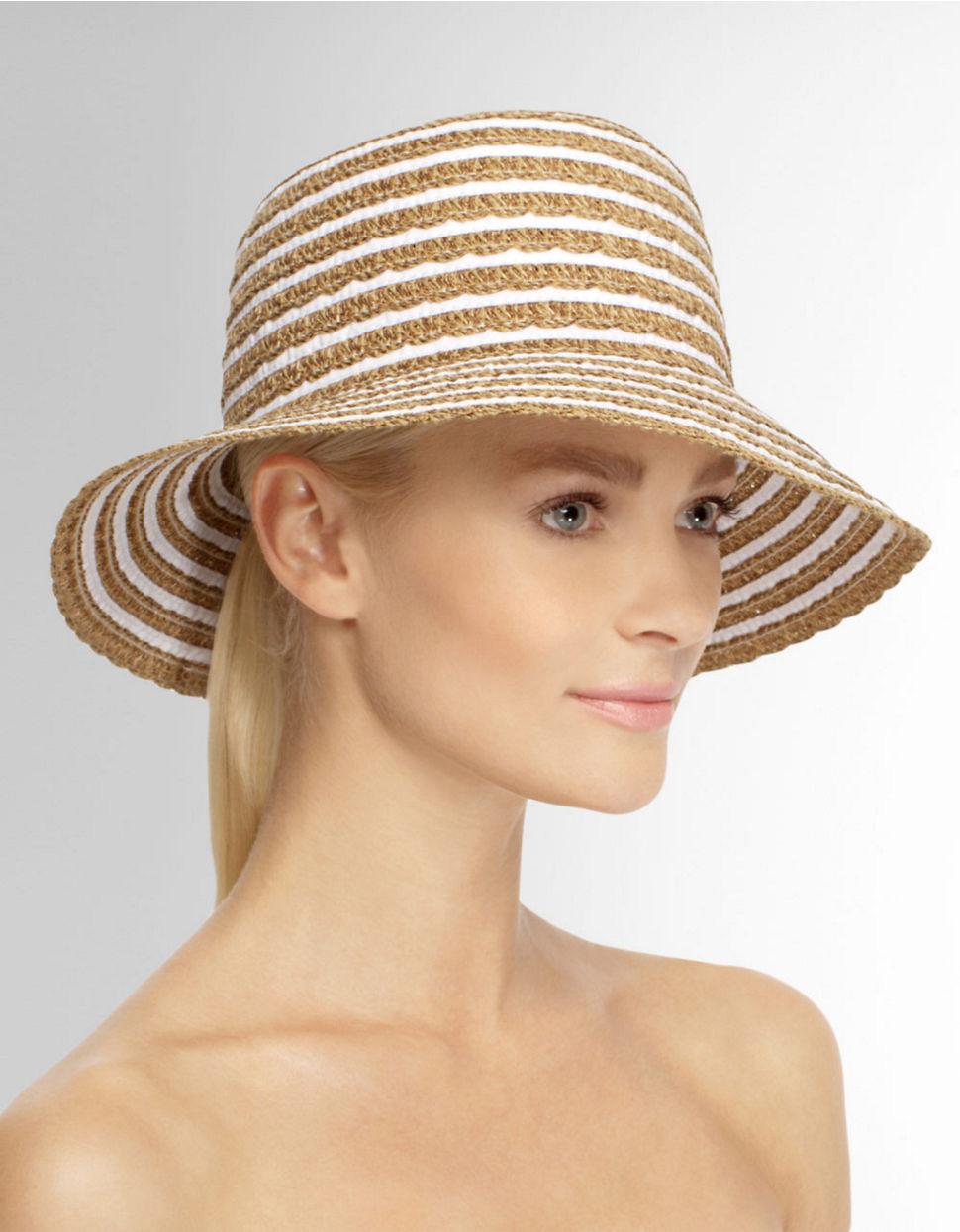 Lyst eric javits braid dame bucket hat in white jpg 970x1245 Eric javits  dame cap 8e37a18dac8