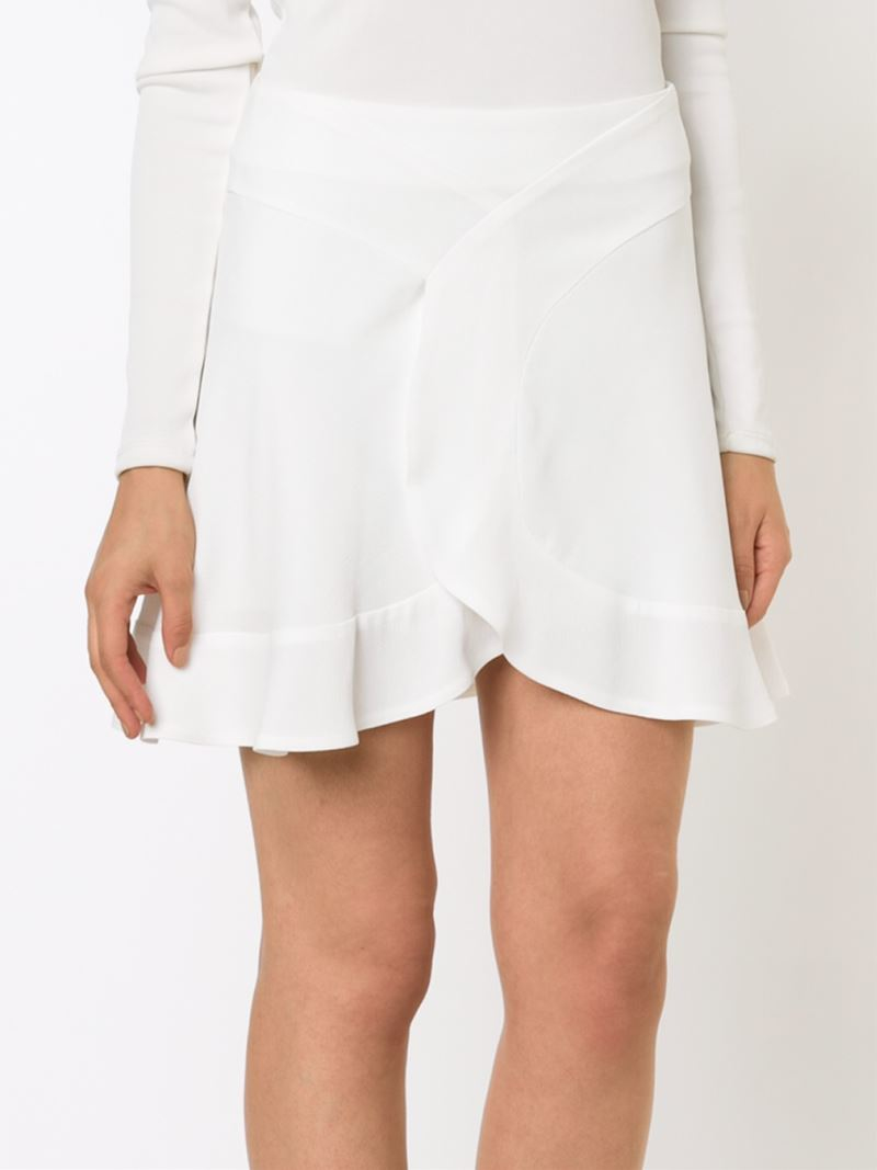 White Short Skirt Photo Album - Watch Out, There's a Clothes About