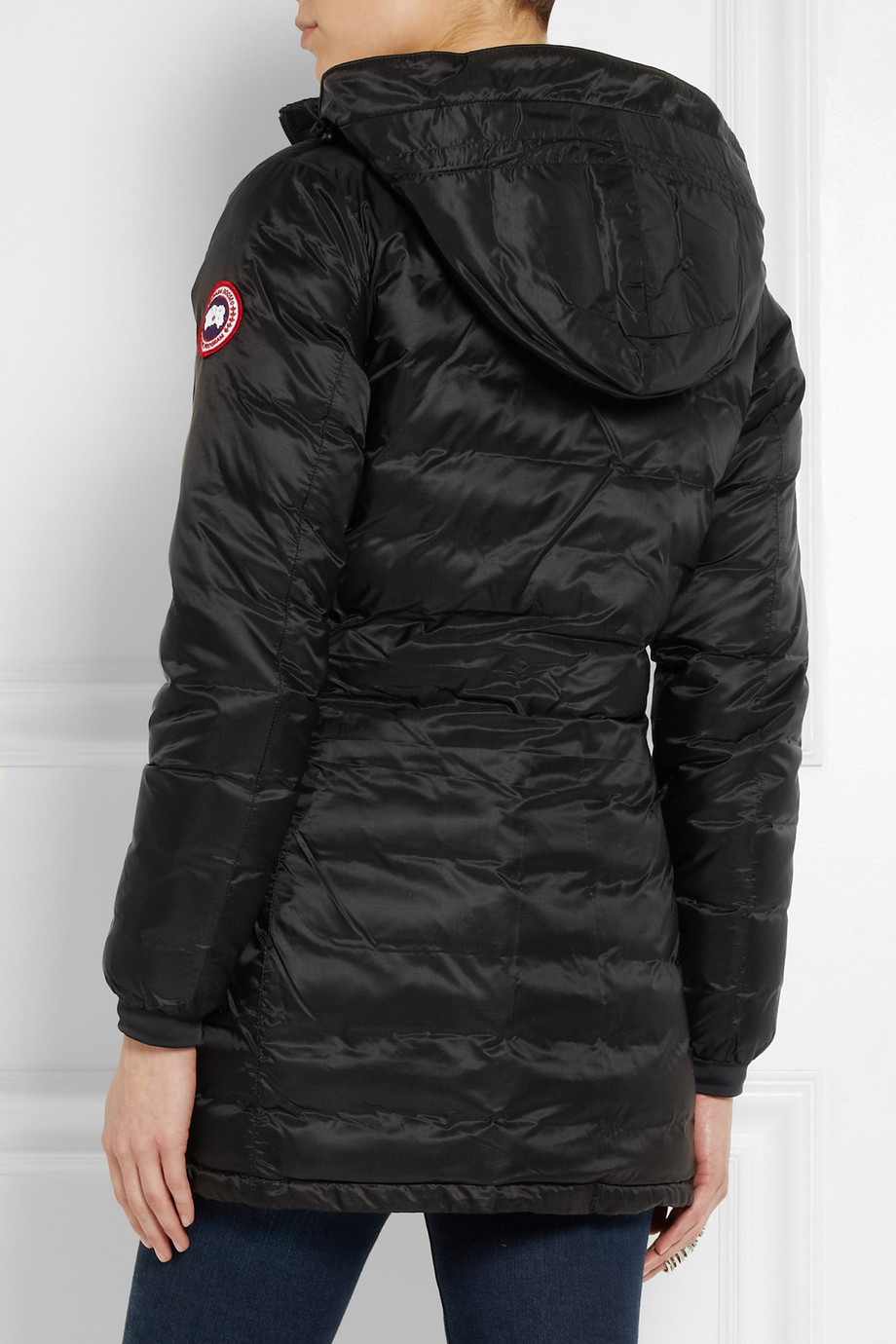 a4bea6f626b4 canada goose women s camp down hooded jacket black
