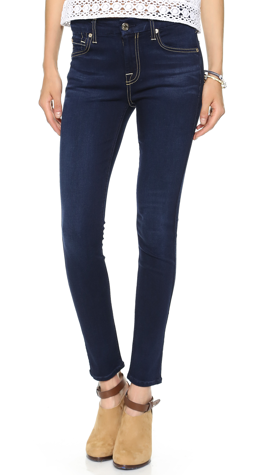 7 for all mankind 7 For All Mankind - Slim Illusion Luxe Night ...