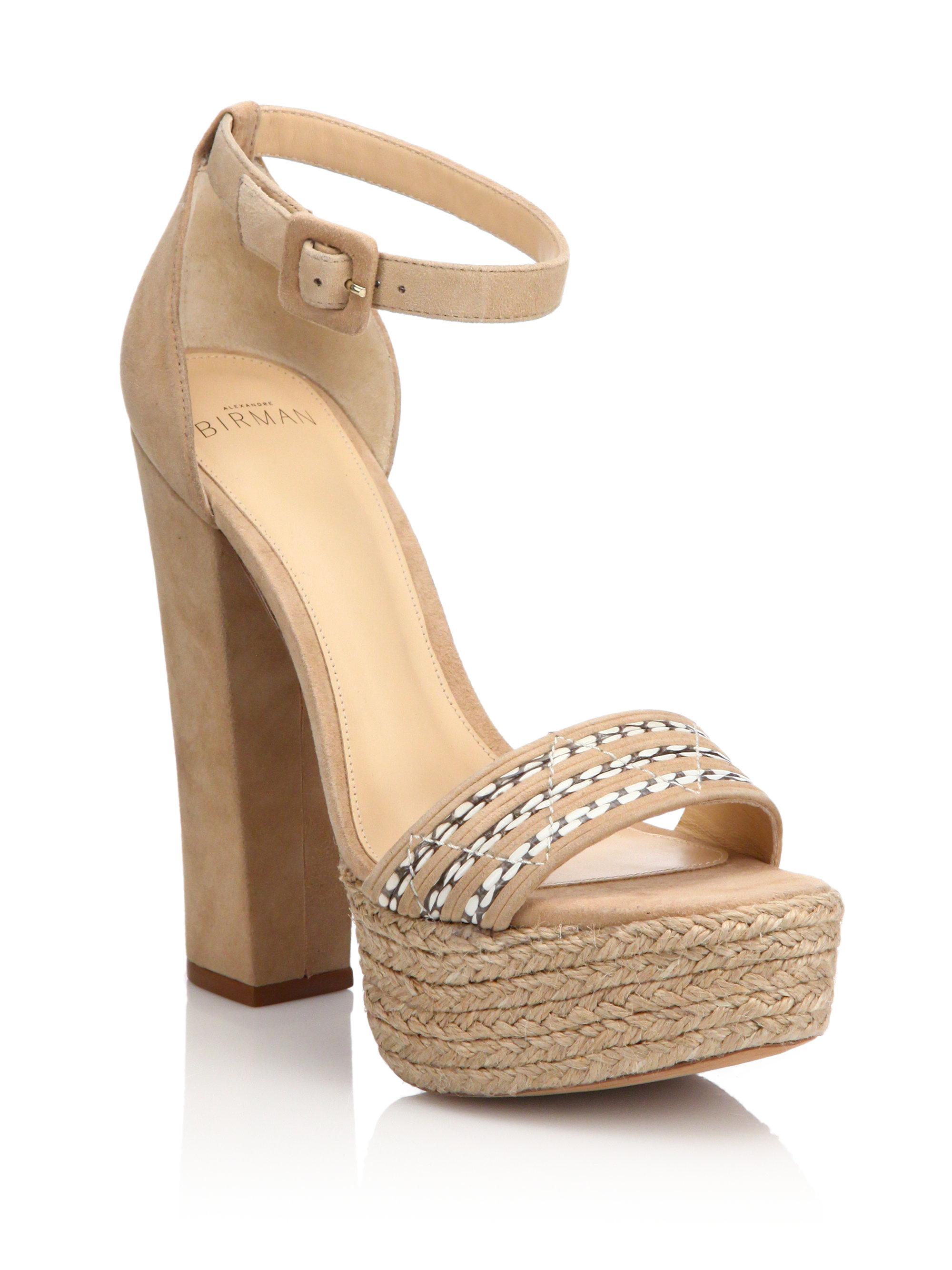 woven detail sandals - Black Alexandre Birman iQEBc2