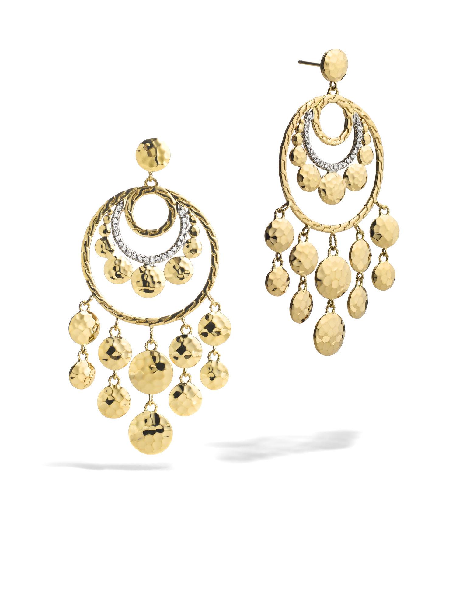 John hardy dot chandelier earrings in metallic lyst for John hardy jewelry earrings