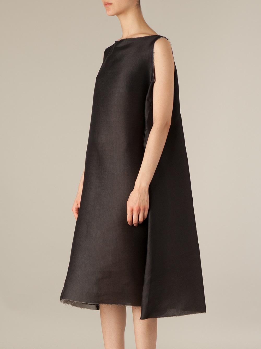 Lyst Yang Li Flared Sack Dress In Black