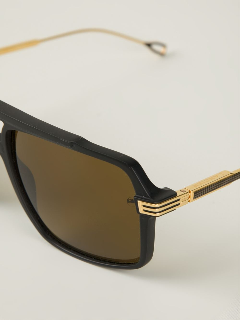 Dita eyewear Lancier X Dita Aviator Sunglasses in Black ... Dita Eyewear