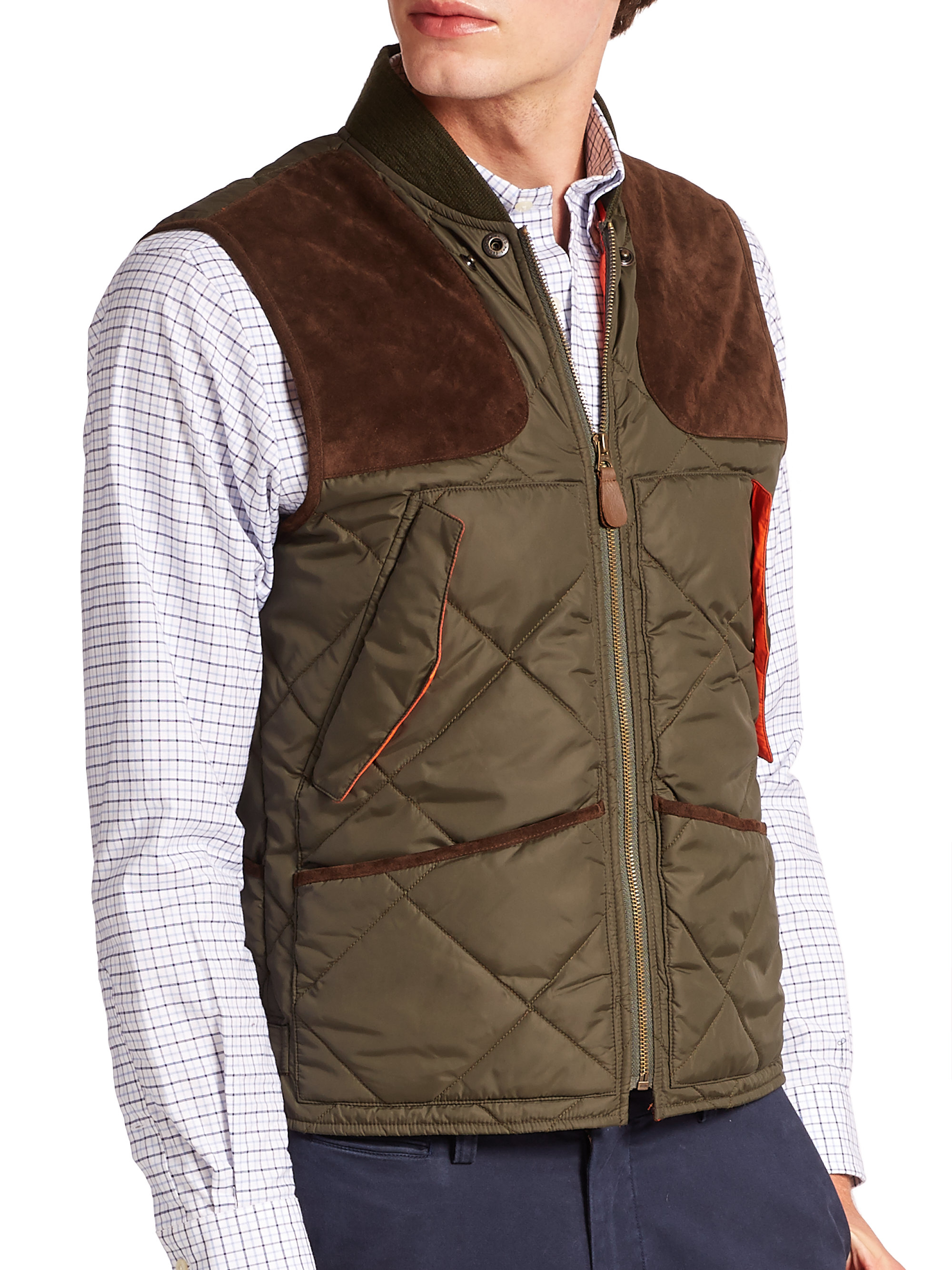 Lyst Polo Ralph Lauren Yarlet Cotton Oilcloth Hunting Jacket