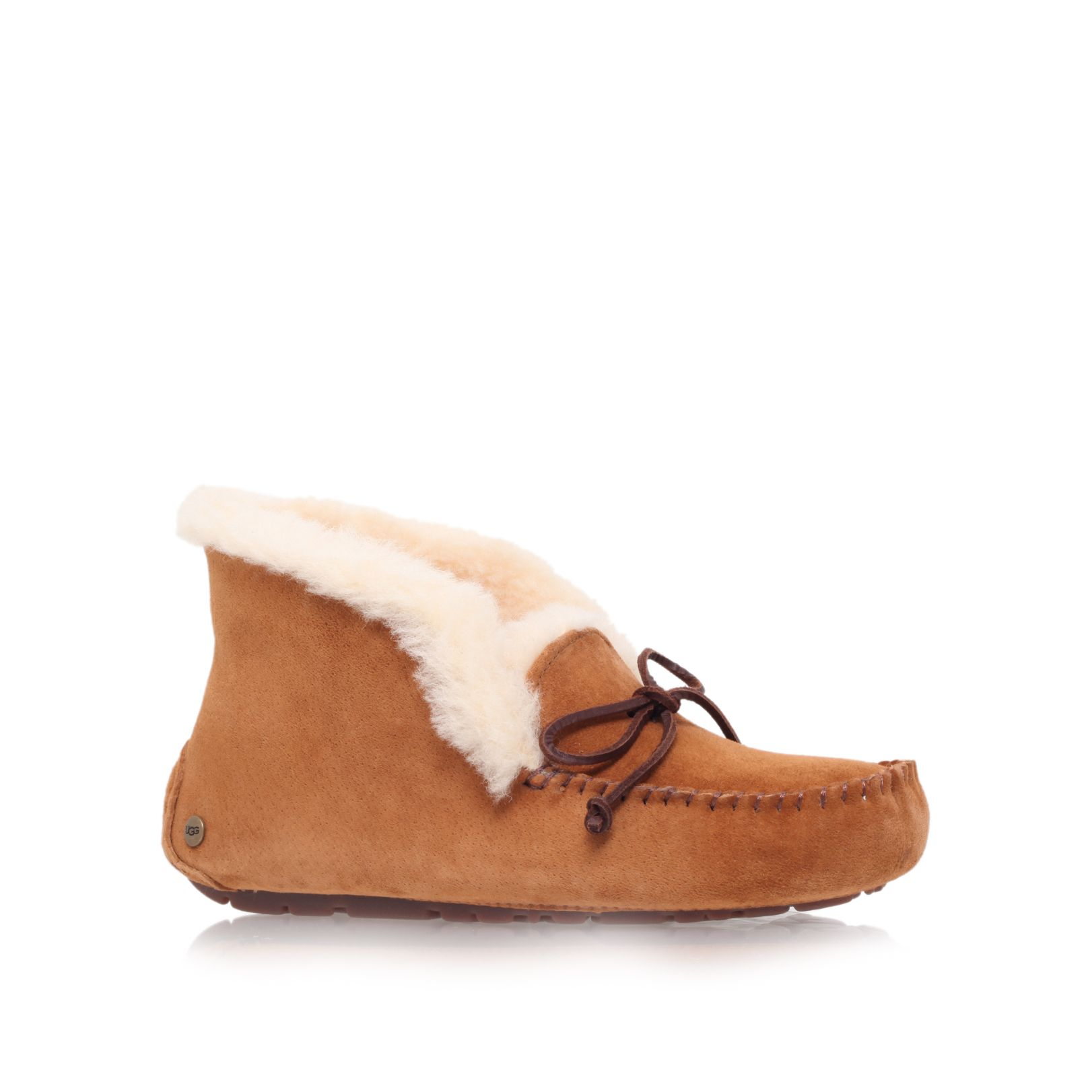 Ugg Alena Slipper Ankle Boots in Brown | Lyst
