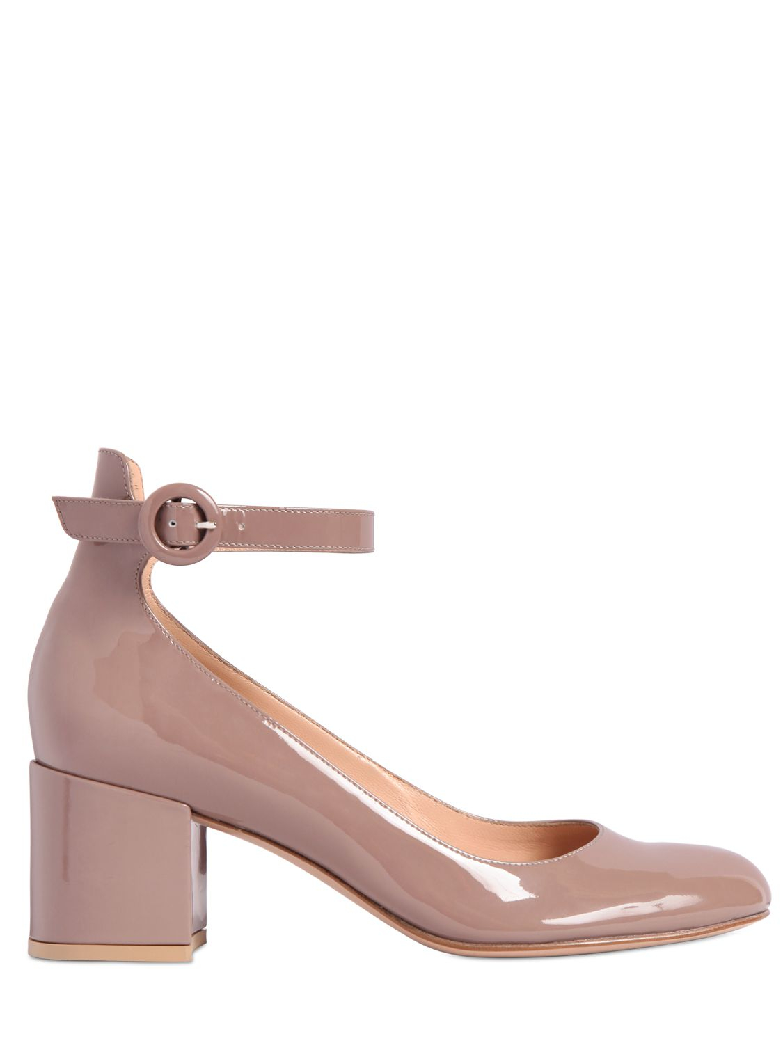 Gianvito Rossi Patent Leather Mary Jane d'Orsay Pumps KM6q3MFT