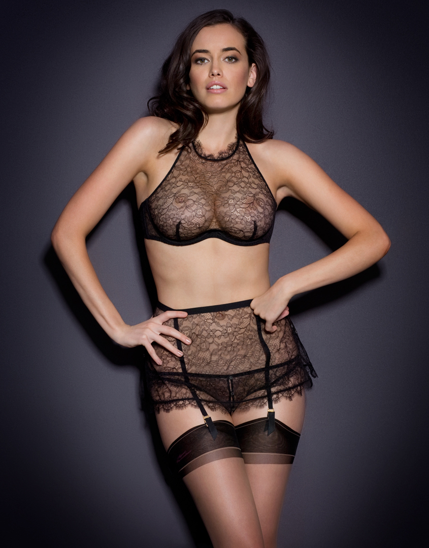 Agent provocateur Annoushka Bra Black in Black