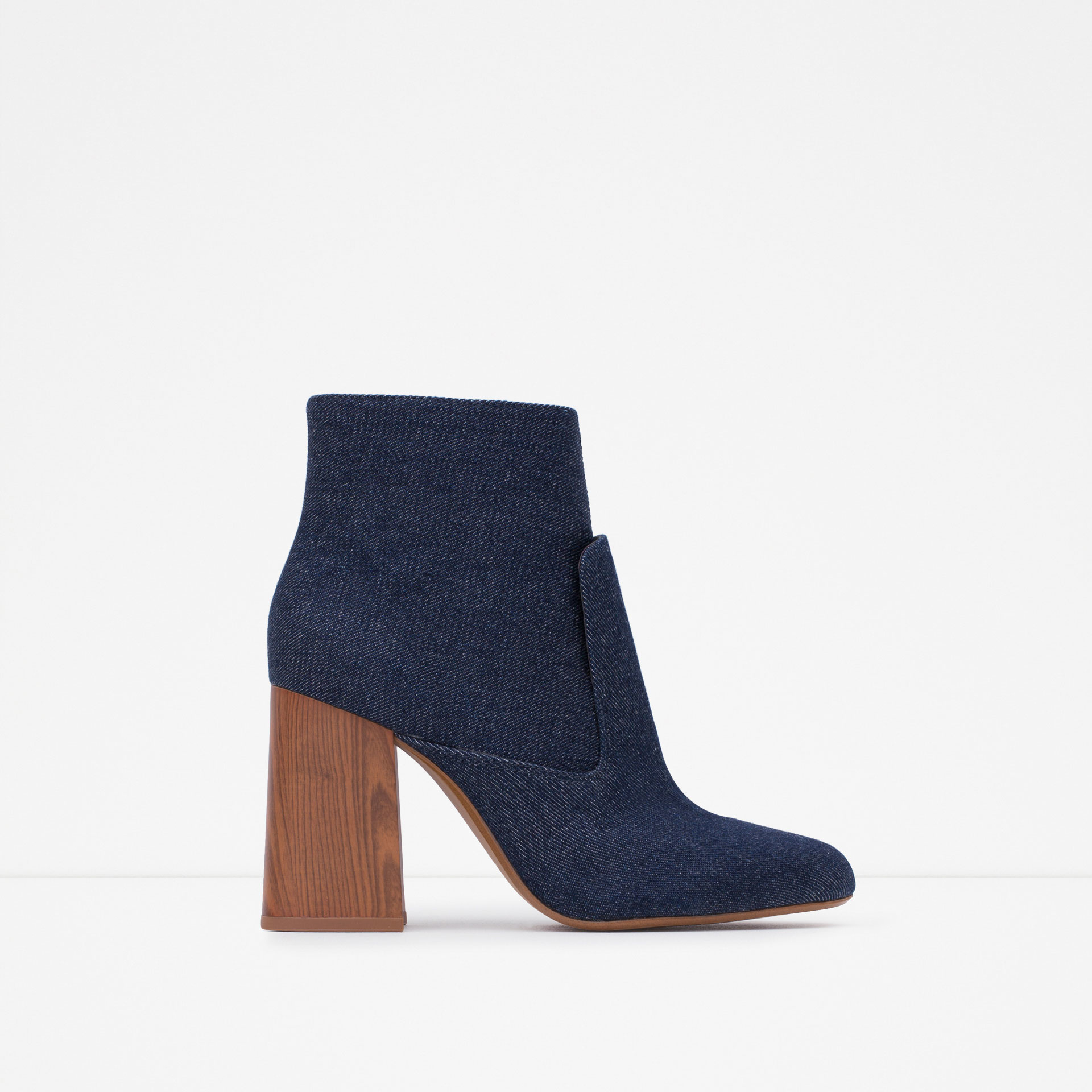 Original 27 Simple High Heels Ankle Boots Women With Jeans | Sobatapk.com