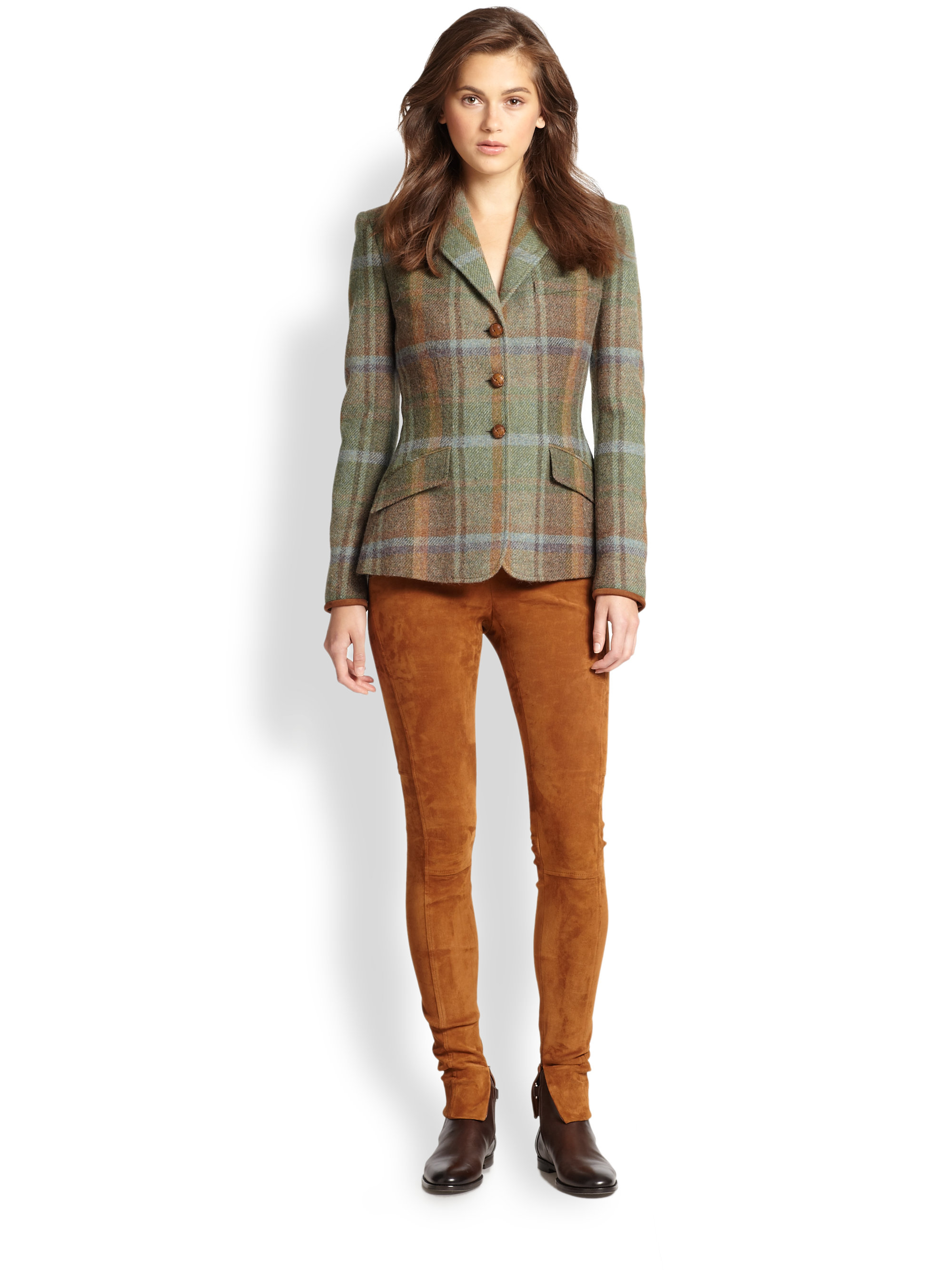 Ralph Lauren Blue Label Custom Riding Jacket Lyst
