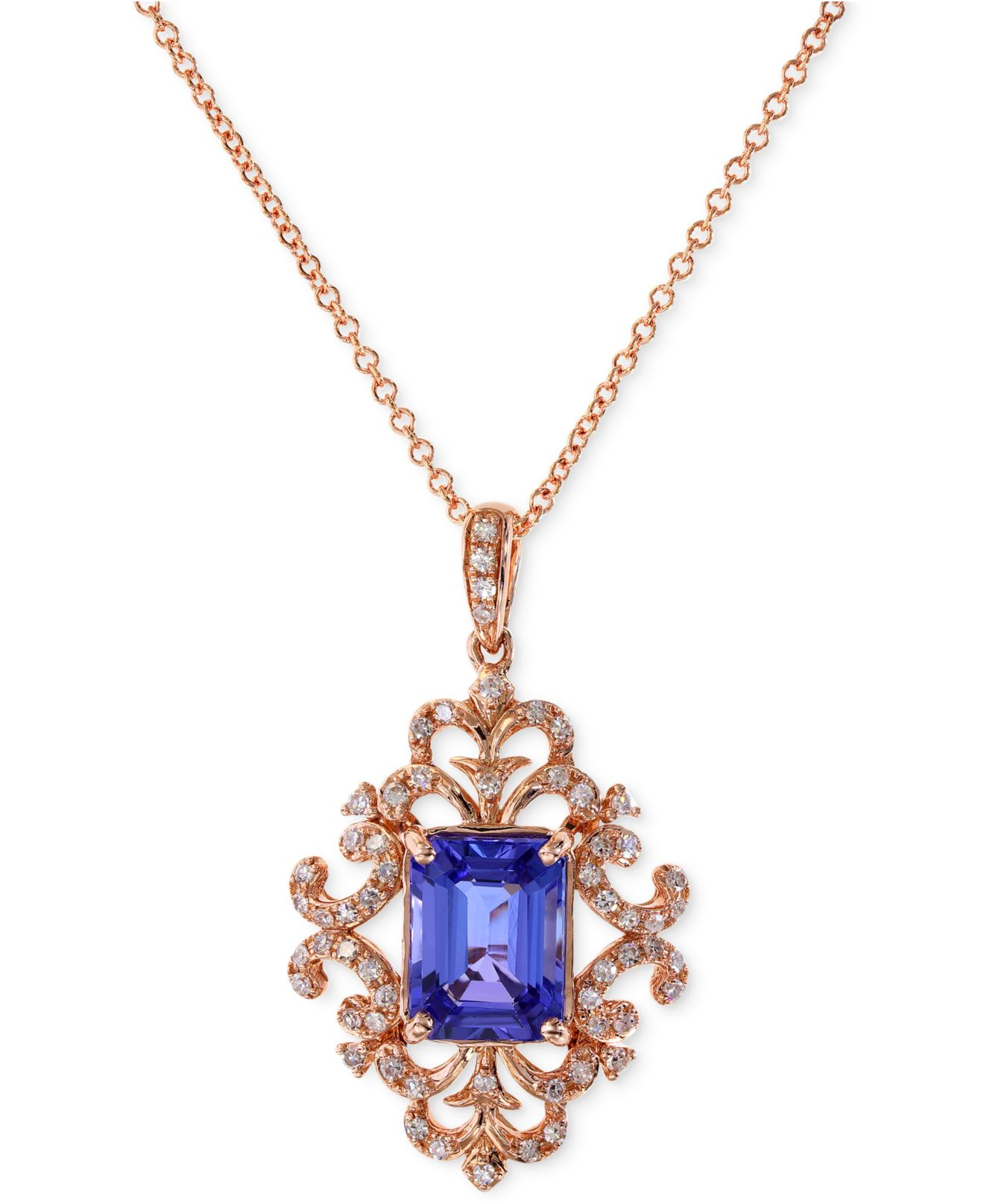 macys jewelry effy collection tanzanite 1 1 3 ct t w and 1 6330