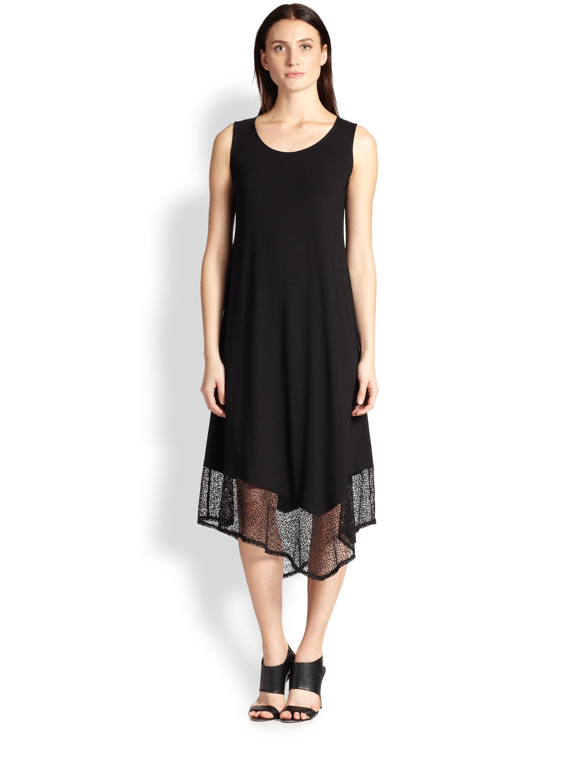 Black Knit Tank Dress