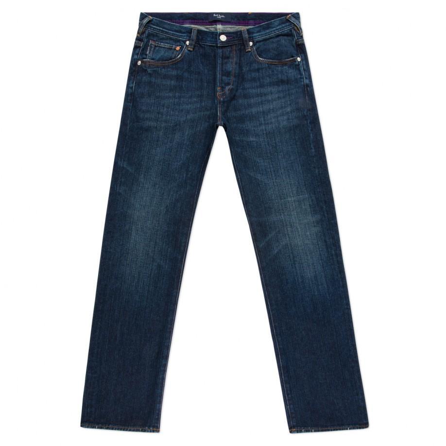 Paul smith Men's Easy-fit Dark-wash Jeans in Blue for Men ...