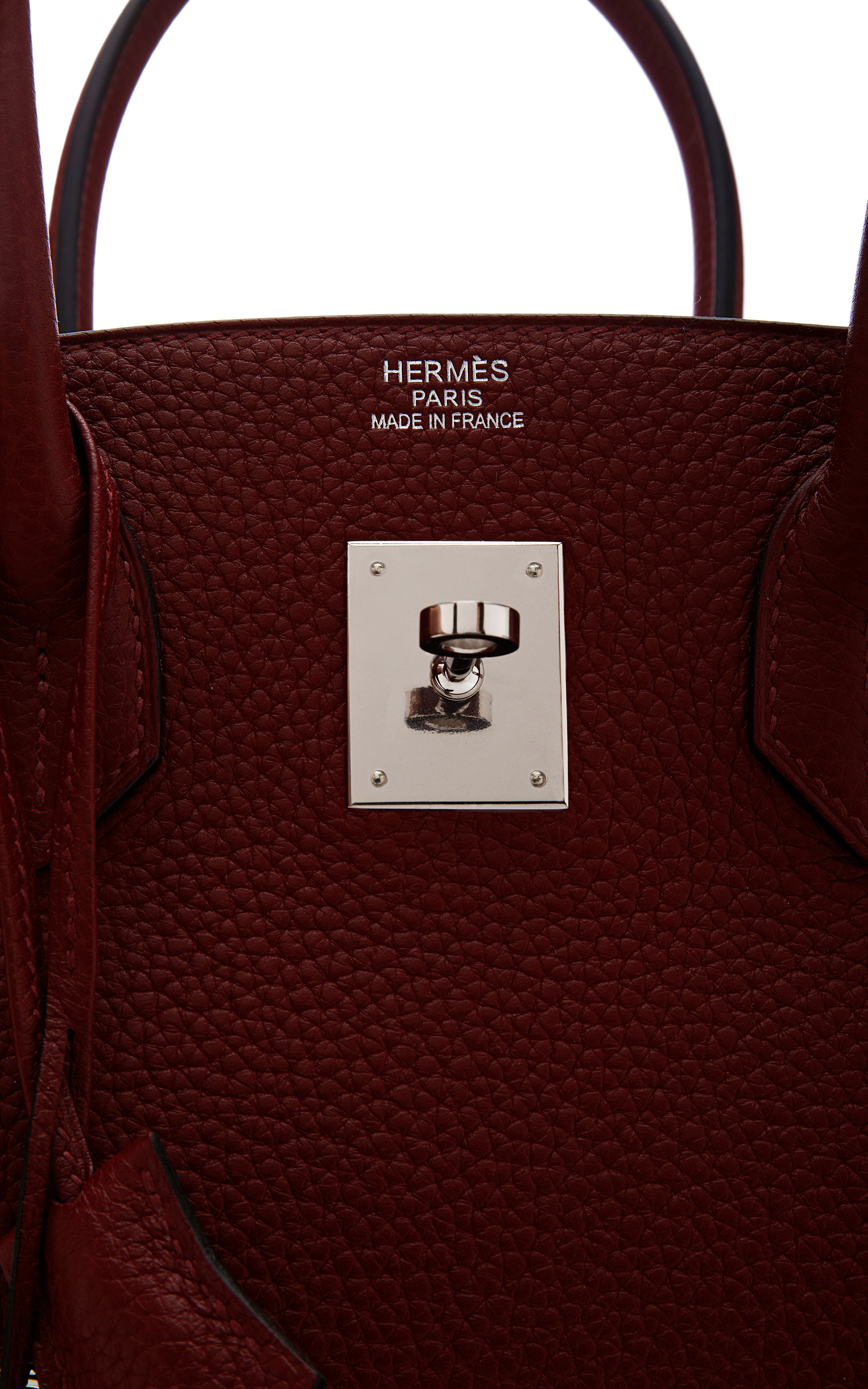 Heritage auctions special collection 35cm Hermes Rouge H Clemence ...