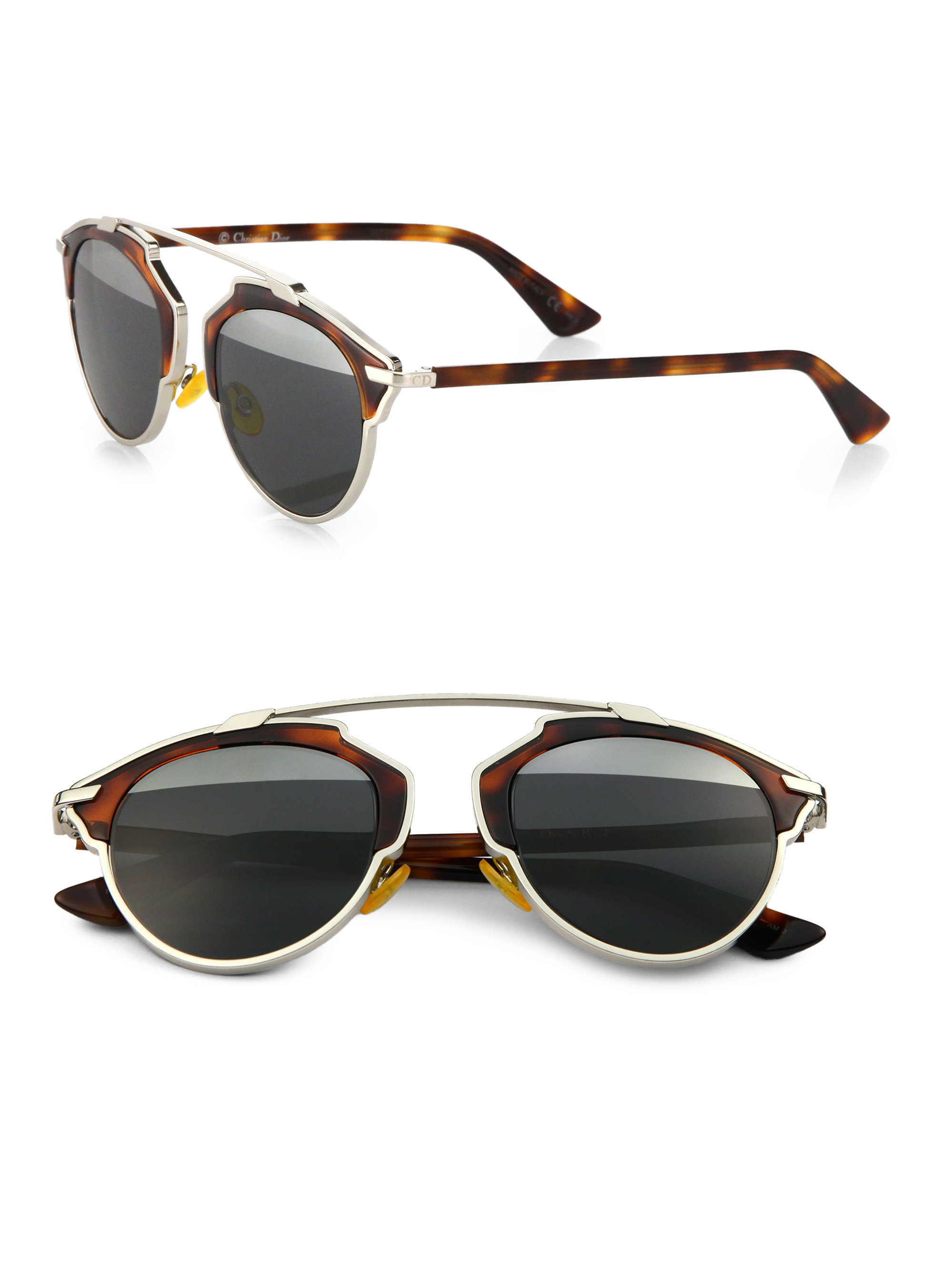 Dior Women S So Real Sunglasses In Brown Save 5 Lyst