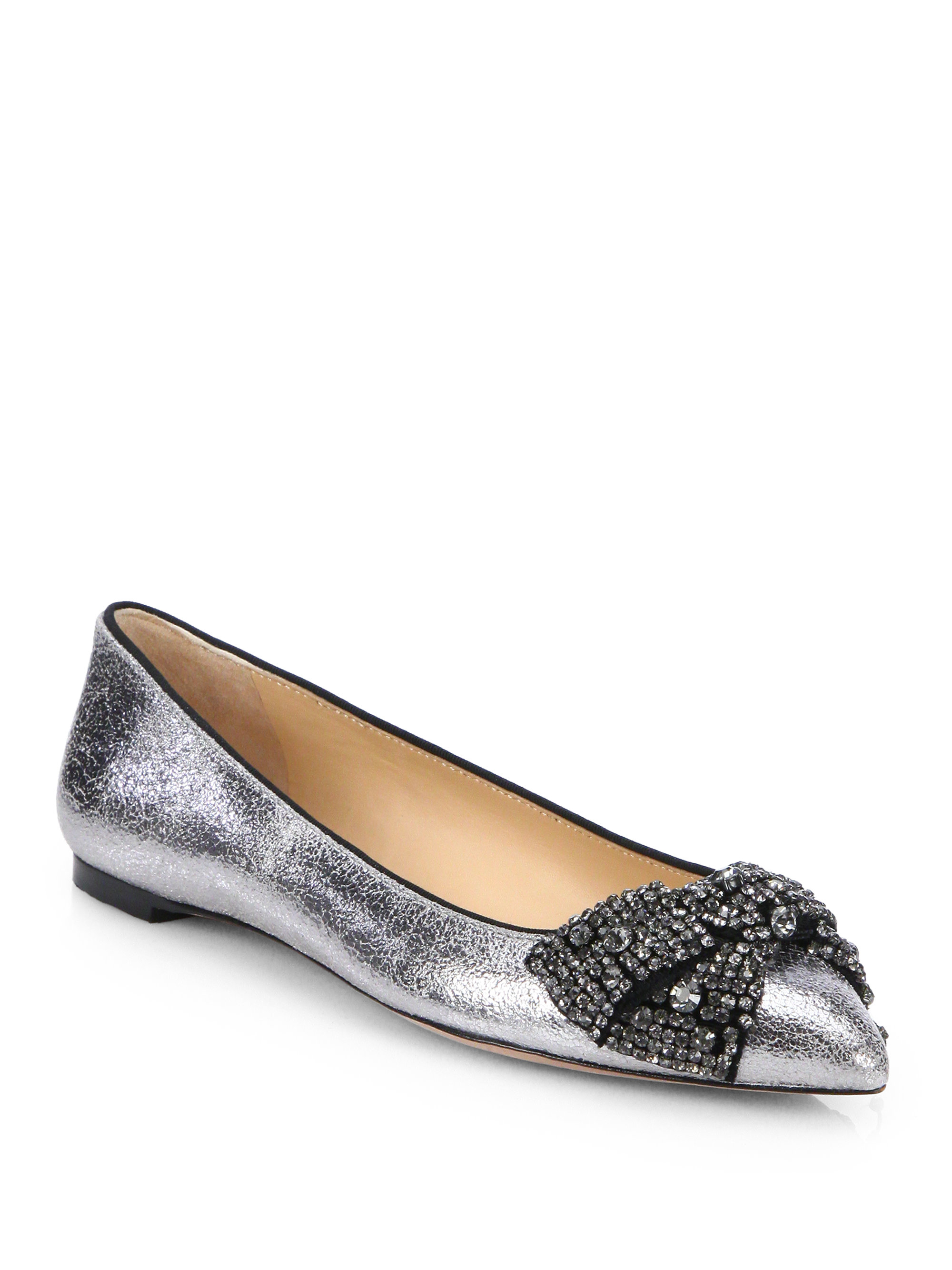 Tory Burch Vanessa Embellished Flats for cheap discount outlet prices outlet real RhjhnzFKe