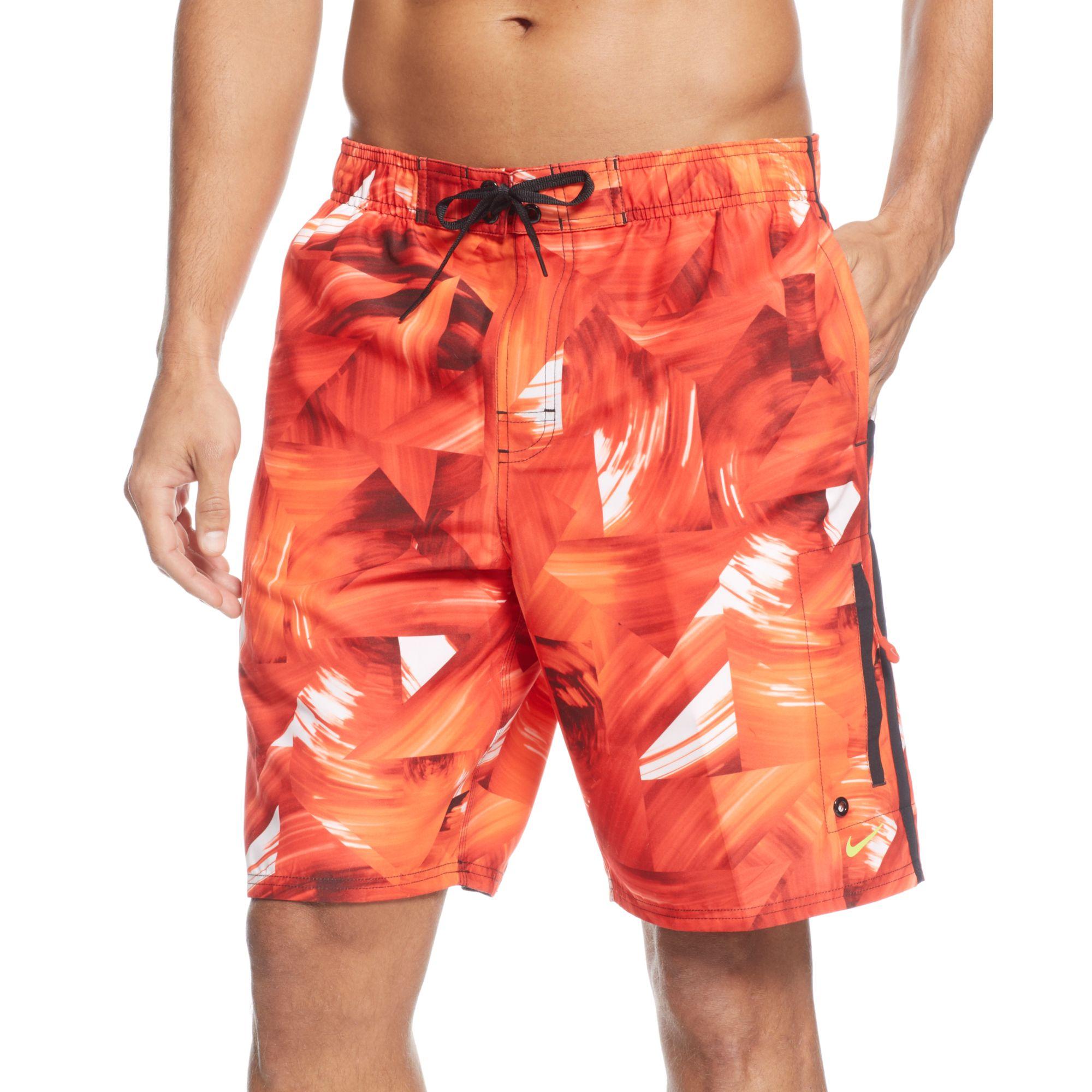 ab7ceb0b9f Lyst - Nike Vortex 9 Volley Swim Trunks in Red for Men
