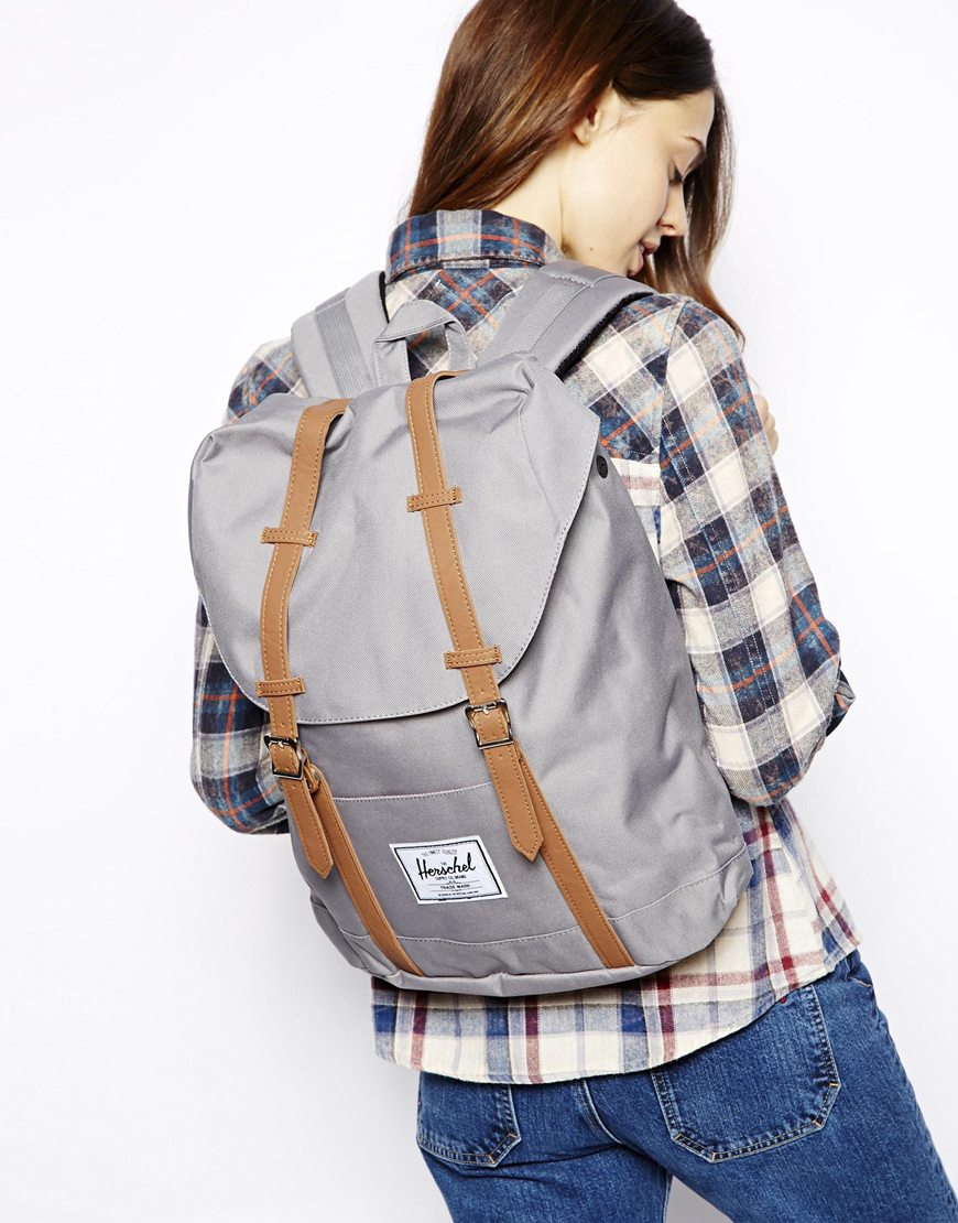 Lyst - Herschel Supply Co. Retreat Backpack in Gray 10441e959c
