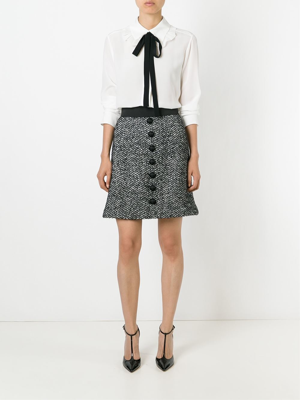 ad33d0f9 Dolce Gabbana Buttoned Top   The Art of Mike Mignola