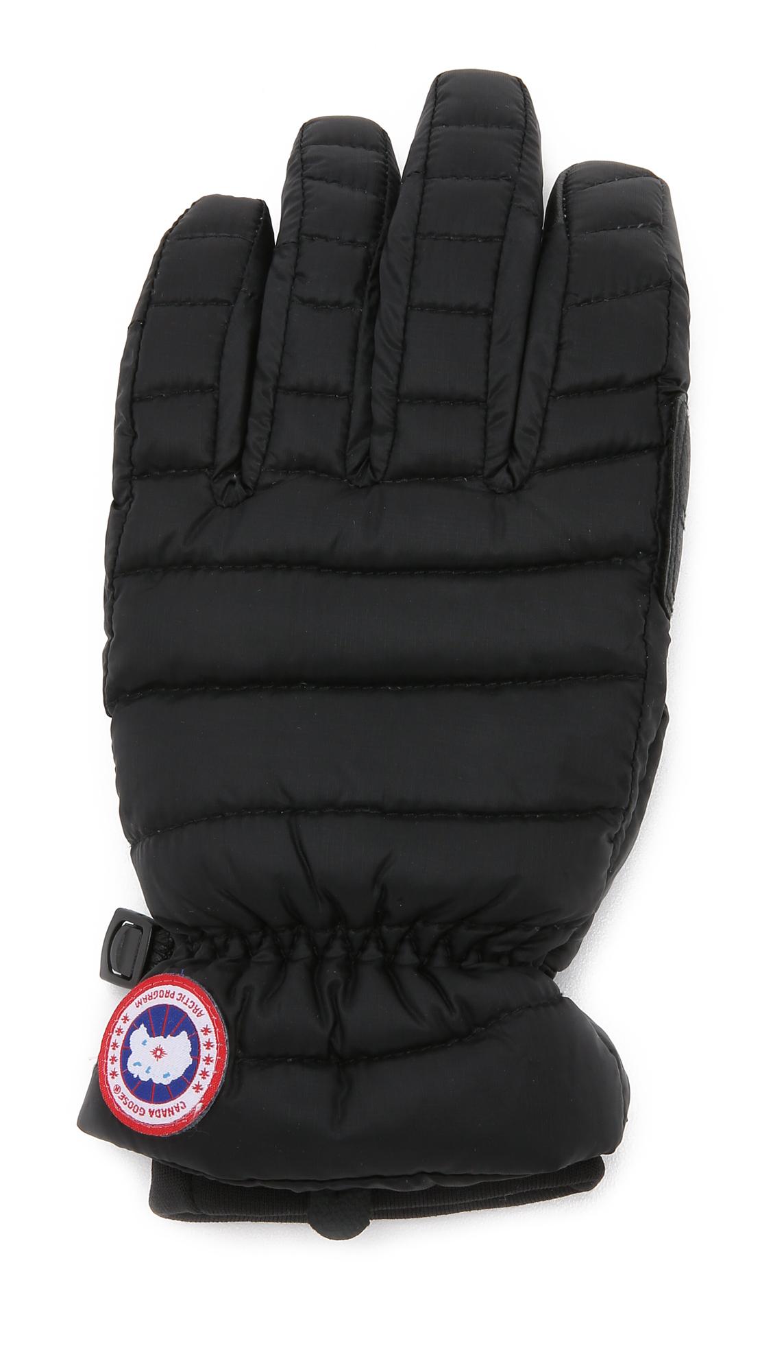ba110cba17f2 Canada Goose Lightweight Gloves Womens