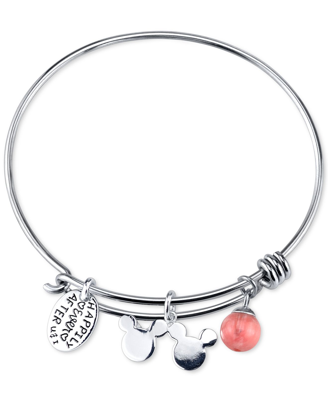 hand adjustable bracelet breast charm cancer medical survivor awareness bangles products stamped bangle