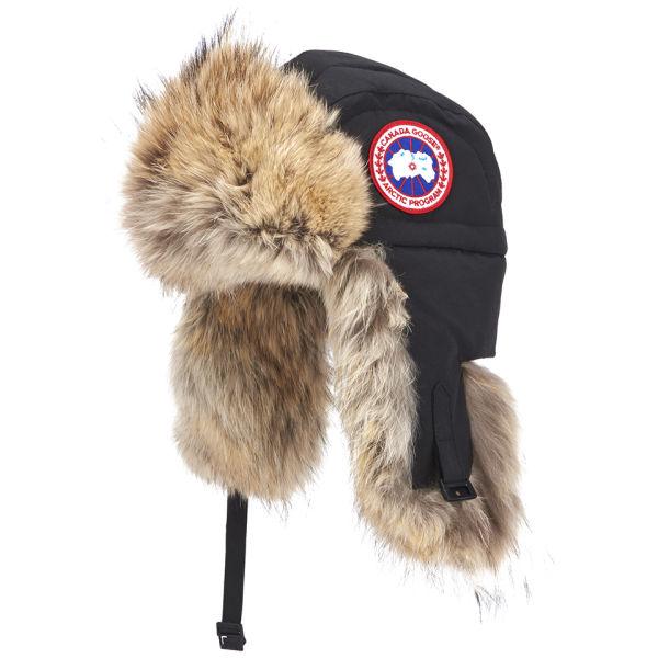 1e0d1e6908a Canada Goose Aviator Hat Black