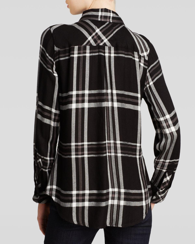 Buffalo Plaid Shirt For Women