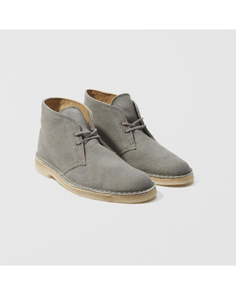 9b1cad9b8f8 Lyst - Abercrombie & Fitch Clarks Desert Boot in Gray for Men