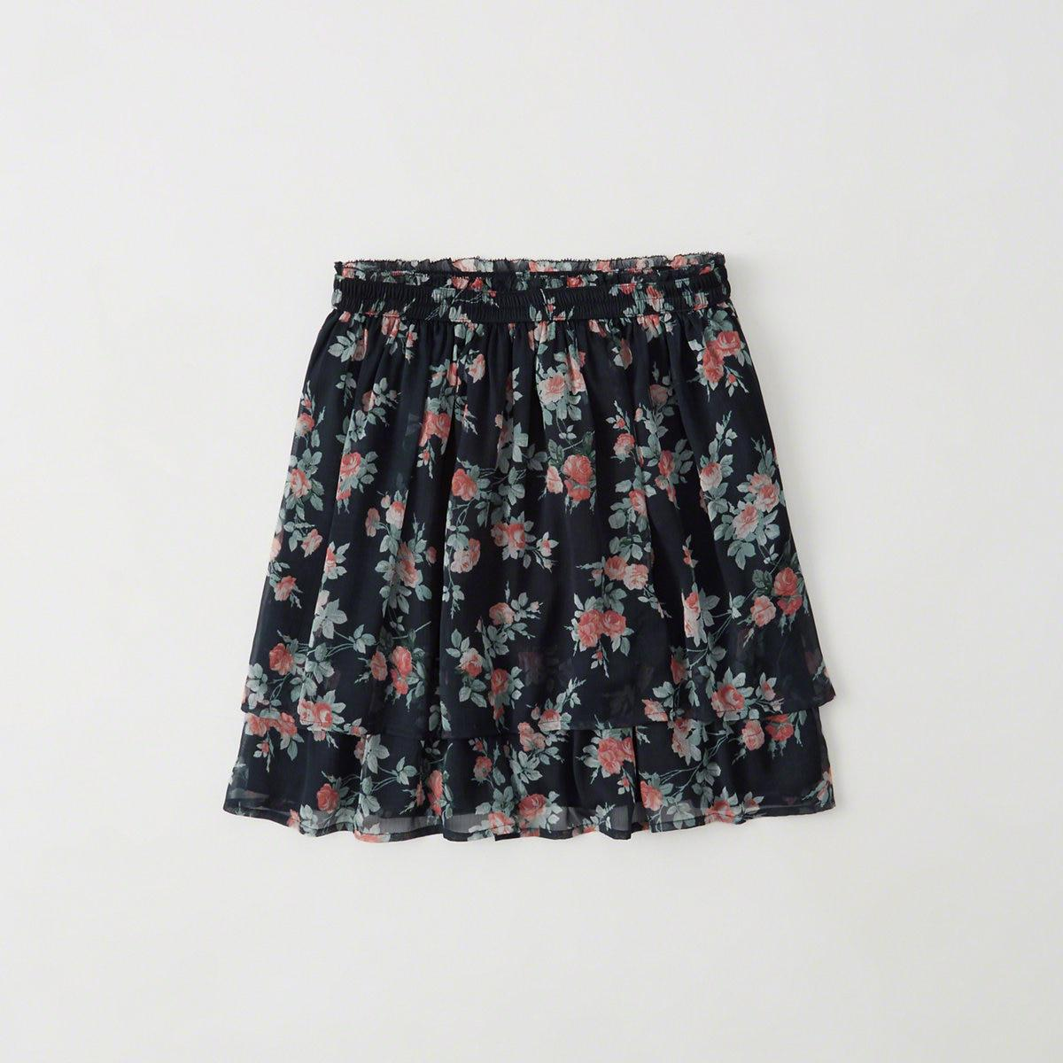 Skirt Floral abercrombie forecasting dress for on every day in 2019